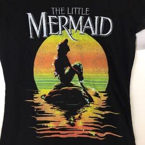 Disney Tops - The Little Mermaid Ariel Sunset Tee Disney